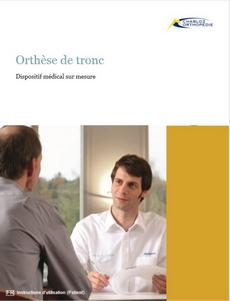 Notice d'utilisation - orthese de tronc - chabloz orthopedie